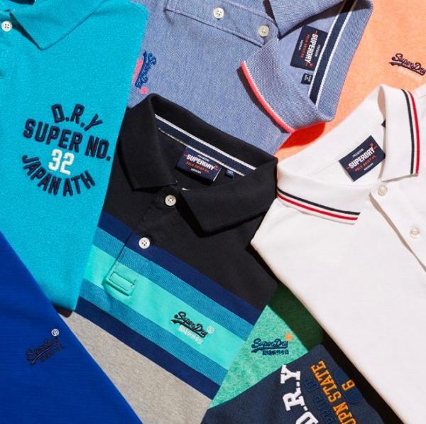 Produkter fra Superdry.