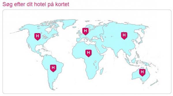 Hotelopia samarbejder med hoteller i hele verden.