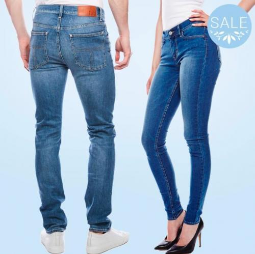 Jeans til hende og ham hos Zoovillage.