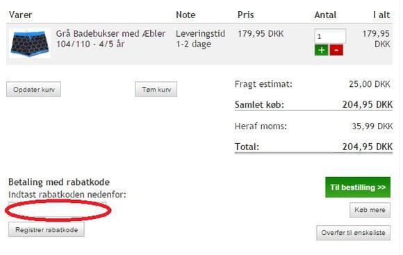 Rabatkode til milledille.dk
