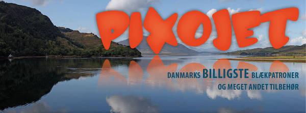 Billige blækpatroner købes hos Pixojet