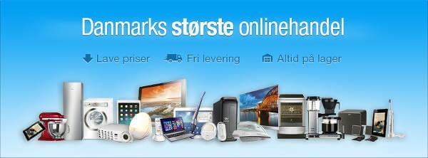 Hvidevarer og elektronik på nettet