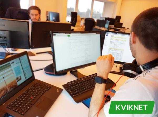 Der arbejdes på det bedst mulige produkt hos Kviknet.