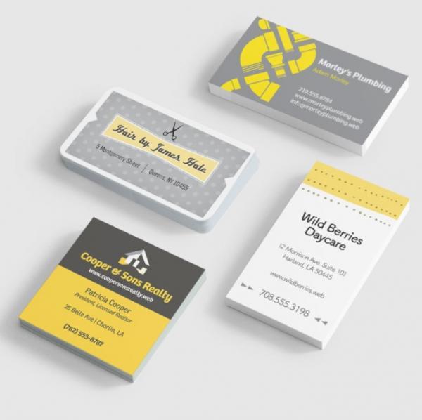 Produkter fra Vistaprint.