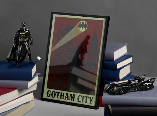 """Selv Batman har fået """"Swarovski-behandlingen."""""""