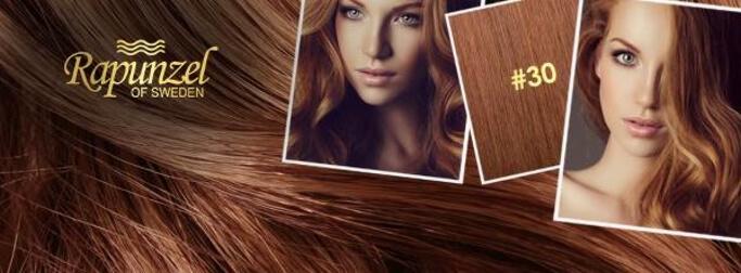 Forskellige hårfarver hos Rapunzel of Sweden