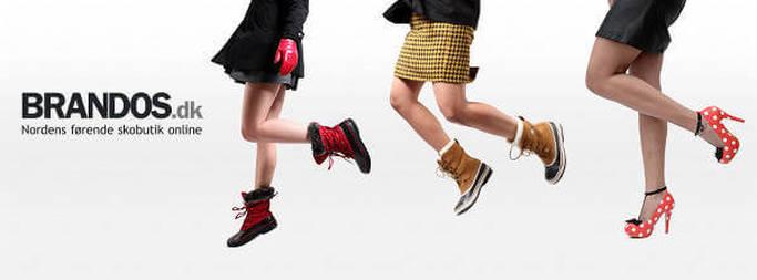 Forskellige typer sko til mænd, kvinder og børn hos Brandos
