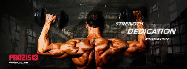 Opbyg muskler med produkter fra Prozis