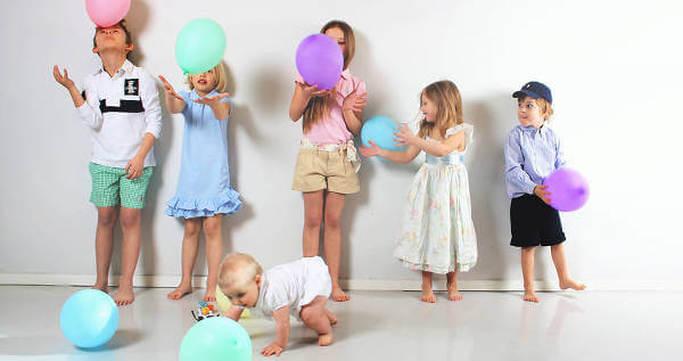 Glade børn hos Babyshop