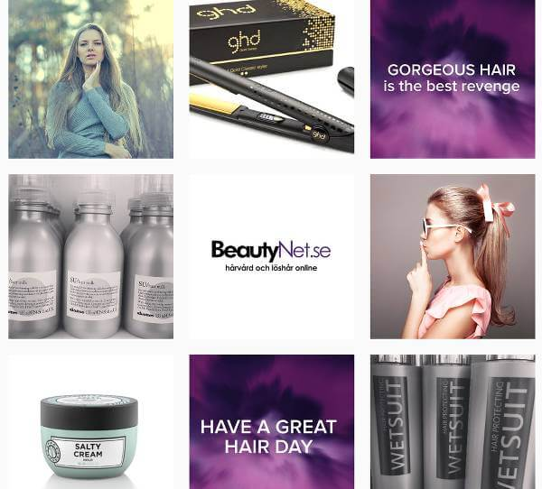 Produkter og rådgivning fra BeautyNet.dk