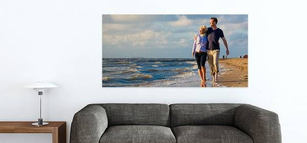 bestcanvas billedelærred på væggen