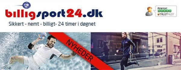 Stort udvalg hos lave priser hos Billigsport24