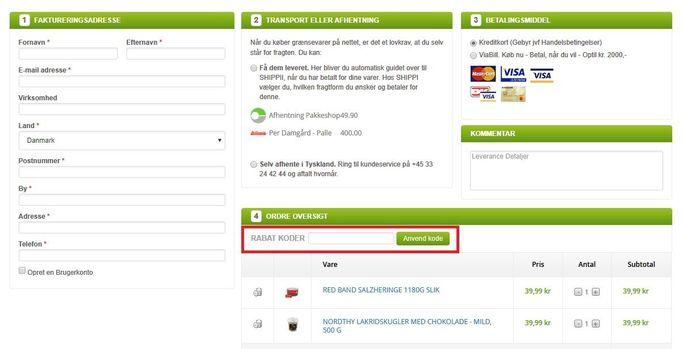 Spar penge med en rabatkode hos Netpris