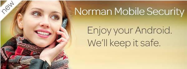 Sikre din mobil med Norman