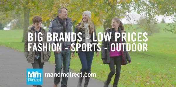 Mærketøj til billige priser hos MandMDirect