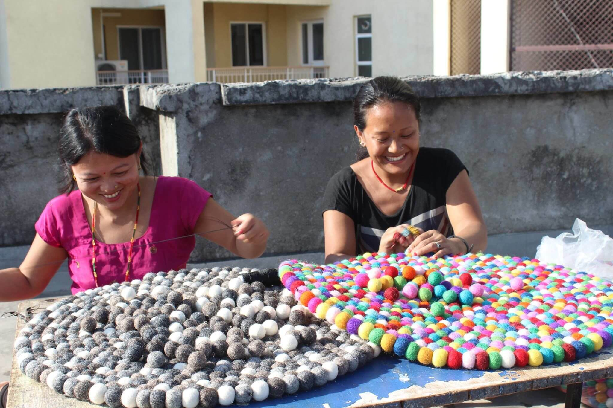 Gode arbejdsforhold for medarbejderne i Katmandu