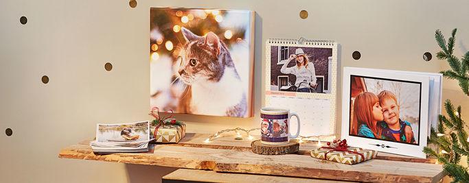 Fotokrus, fotokalendere og fotobøger hos Photobox