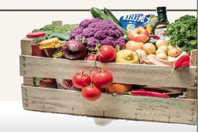 Frugt- og grøntsagskasser