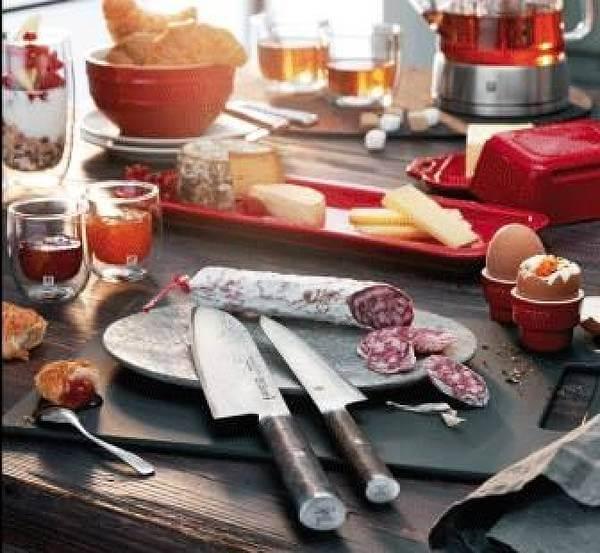 Forskellige køkkenredskaber til forskellige formål og behov