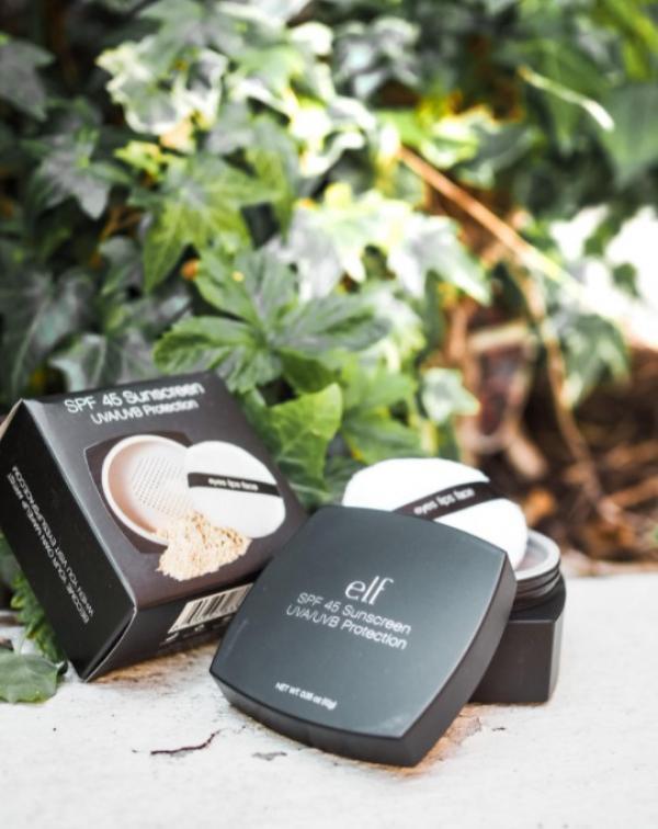 Produkter fra e.l.f. cosmetics.