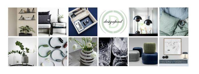 Designprodukter fra mange varemærker fra Designfund