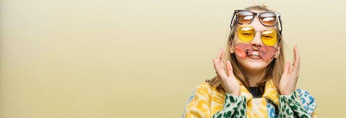 Solbriller i mange farver og former hos eyerim