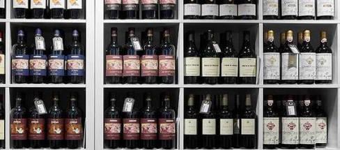Et lille udvalg af vine fra Theis Vine