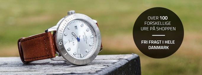 Følg Watchmen på Facebook og vær opdateret omkring de nyeste ure og tilbud