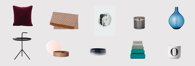 Tæpper, vaser og skåle fra Designfund