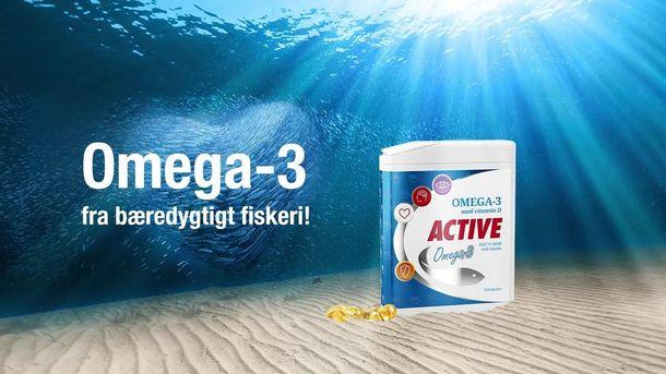 Få Active Omega-3 leveret lige til døren