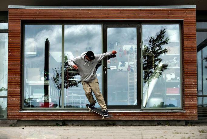 Skateboard fra Labforum