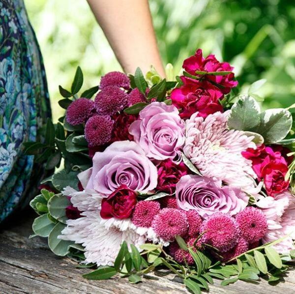 Blomster fra Euroflorist.