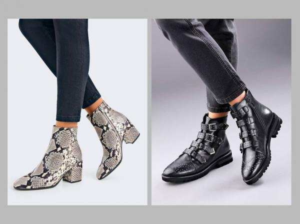 Støvler hos Peter Hahn.