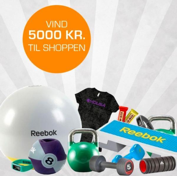 Produkter fra Fitnessbutikken.