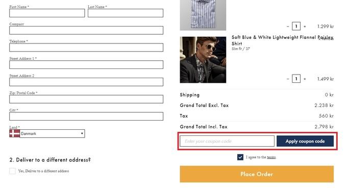 Køb skjorter med en rabatkode hos Eton
