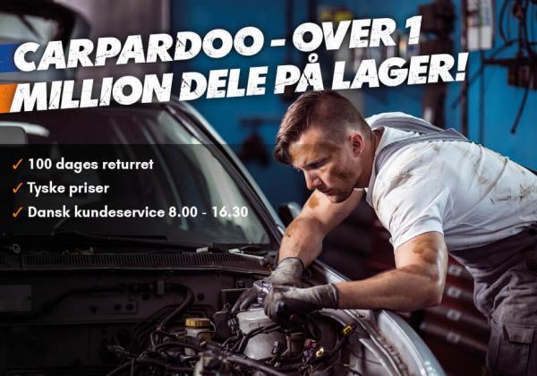 Dansk kundeservice og tyske priser hos Carpardoo.