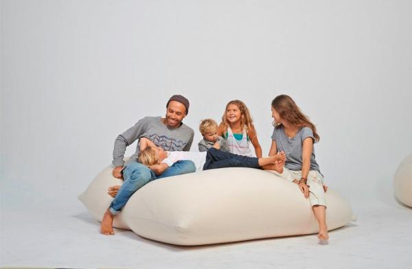 Sækkestole til hele familien hos Terapy.