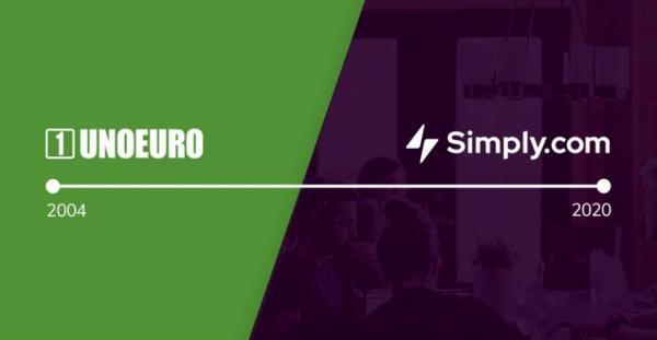 Efter 16 år som UnoEuro blev Simply i 2020 til ... Simply.