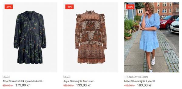 Gode tilbud i Trenddays' onlinebutik.