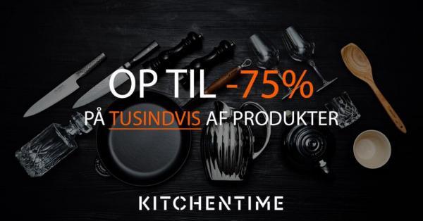 Altid gode tilbud hos KitchenTime.