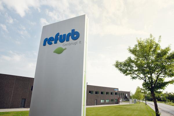 Refurbs hovedkvarter.