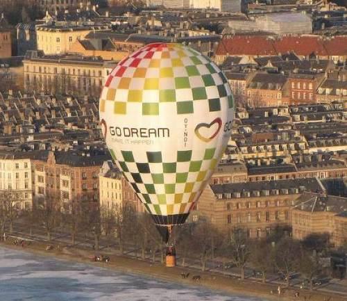 Luftballon fra oplevelsesgaver.dk