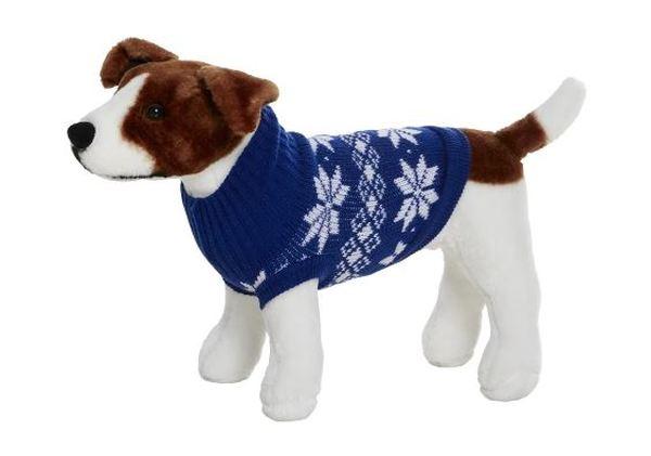 Ingen dobbelt sul til (lænke)hunden, men til gengæld en lækker jule-sweater!
