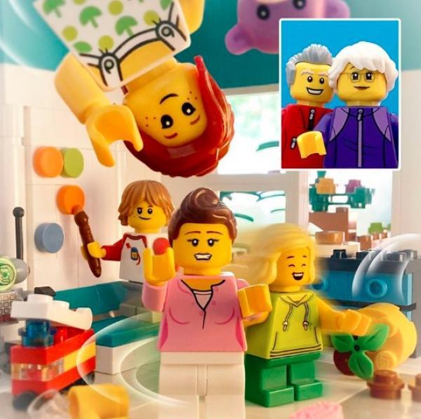 LEGO samler generationerne - og omvendt.