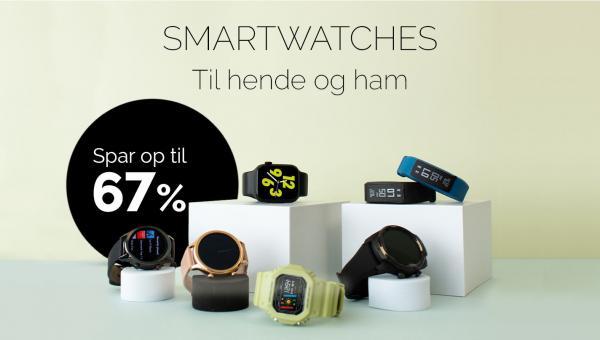 Plusshop tilbyder Smartwatches til gode priser.