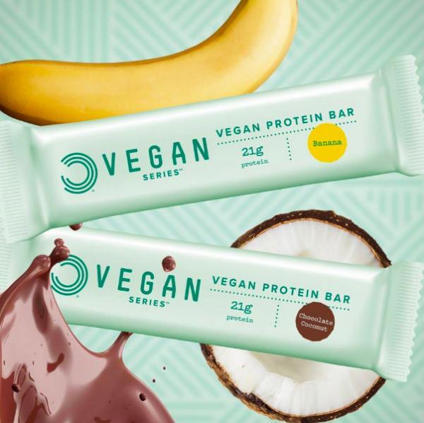 Bulk Powders har et stort udvalg af veganske produkter.