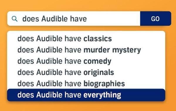 Ja, Audible har det hele.