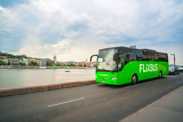 FlixBus kører over hele Europa.
