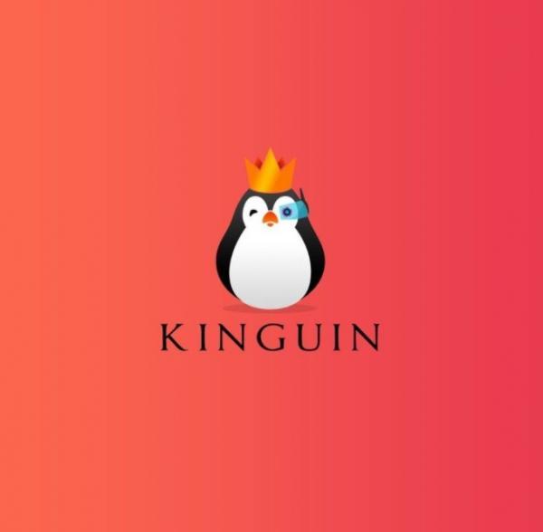 """""""Kongepingvinen"""" - Kinguins logo."""