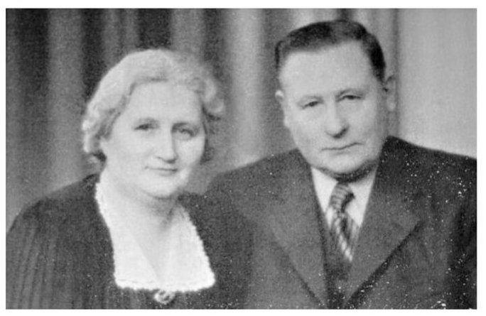 Annie og David Petterson, grundlæggerne af Eton
